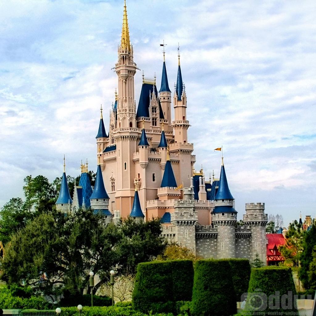 cinderellas castle ipad wallpaper