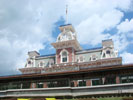 magic kingdom main street u.s.a. train station desktop wallpaper